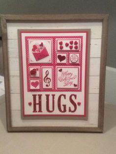 Stampin' Up! Valentines Frames, Valentine Day Crafts, Love Valentines, Valentine Ideas, Scrapbook Paper Crafts, Scrapbook Pages, Paper Crafting, Scrapbooking, Stamping Up Cards