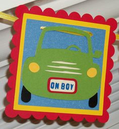 Baby Boy Baby Shower Banner   READY TO SHIP by APaperPlayground, $13.00