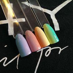 #nailart #nailsoftheday #nail4you  #nails #nailpolish #nailswag #negle #faded #color #colorgeldesign #colorgel #gelenegle