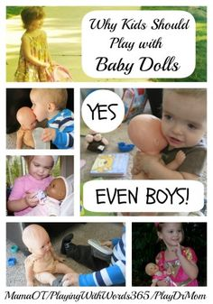 Why EVERY Child Should Have a Baby Doll