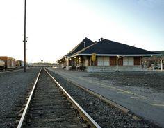 AZILDA, Ontario - CPR - VIA Rail station built 1907