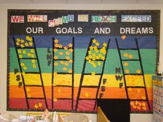 DIBELS, Kids at Hope combo board. Tracking student scores throughout the year. Data Bulletin Boards, Data Boards, Elementary Bulletin Boards, Science Classroom Decorations, School Decorations, Classroom Themes, Data Binders, Data Notebooks, School Data Walls