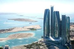 abu dhabi towers from a distance - Google Search