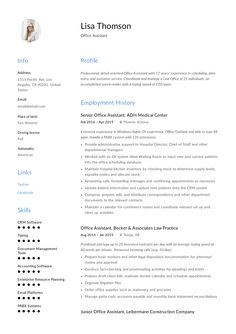 We help you write the correct Job descriptions and have responsibility examples included. Office Assistant Resume, Resume Writing, Resume Templates, Modern, Free, Design, Tourism, Trendy Tree