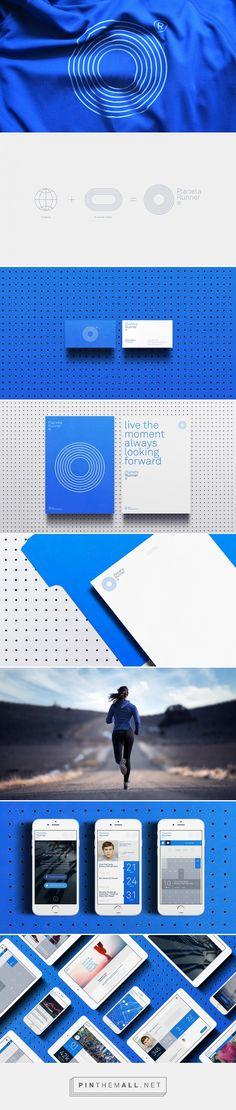 PlanetaRunner® on Behance - Brand Development Brand Identity Design, Graphic Design Branding, Corporate Design, Corporate Identity, Visual Identity, Logo Design, Logos, Typography Logo, Event Branding