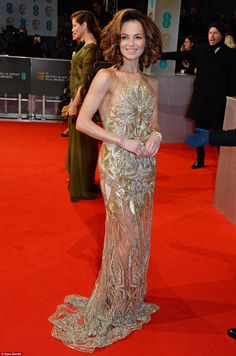 Kara Tointon's gold dress looked like it could have been a leftover from her Strictly Come...