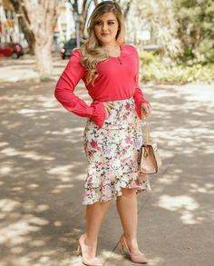 New Skirt Outfits Plus Size Blazers Ideas Midi Skirt Outfit, Winter Skirt Outfit, Skirt Outfits, Dress Skirt, Cute Outfits, Modest Fashion, Skirt Fashion, Fashion Dresses, Plus Size Blazer