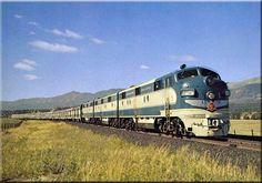 Missouri Pacific Colorado Eagle                        St. Louis-Pueblo-Denver