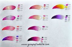 Atelier Gina Pafiadache: Suggested colors for coloring books! Colored Pencil Tutorial, Colored Pencil Techniques, Coloring Tips, Coloring Tutorial, Colouring Techniques, Coloured Pencils, Color Pencil Art, Color Blending, Coloring Book Pages