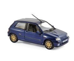Renault Clio Williams 1996 - Blue - Die-cast | Hobbyland