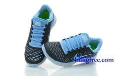 hot sales 1264f cb7fc Verkaufen billig Schuhe Damen Nike Free 3.0 V4 (Farbe Vamp-blau ,schwarz,innenlogo-blau Sohle-weiB) in Deutschland.