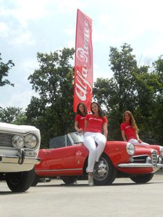 Automobile, Alfa Romeo Spider, Coca Cola, Women, Car, Coke, Autos, Cola, Cars