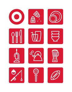 target wayfinding icons. ty wilkins, paul howalt, von glitschka; CD sherwin schwartzrock