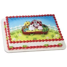 Barnyard Puzzle Cake Topper by Hallmark * Check out the image by visiting the affiliate link Amazon.com on image.