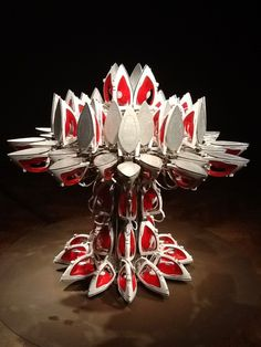 Joana Vasconcelos, Full Steam Ahead (Red # 1) on ArtStack #joana-vasconcelos #art