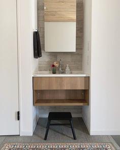 2 Bedroom House Design, Washroom Design, Washbasin Design, Nail Salon Design, Concept Architecture, Double Vanity, New Homes, Interior Design, Bathroom