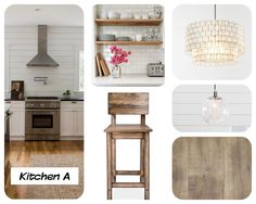My ideas for a modern farm house kitchen! Visit Ahousefromscratch.blogspot.com for more!