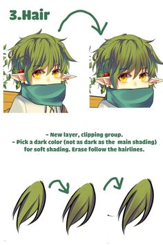 """Drawing Tips rabikuntrash: """"My friends asked me for an tutorial For Paint Tool Sai users. There should be plenty of guides on how clipper group, preverse opacity/opacity lock works so I won't be adding them. Digital Painting Tutorials, Digital Art Tutorial, Painting Tools, Art Tutorials, Drawing Tutorials, Digital Paintings, Hair Painting, Painting Art, Drawing Techniques"""