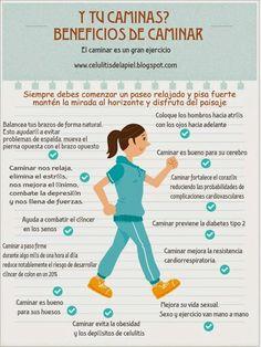 Beneficios de caminar www.rubenentrenador.com @Rubenentrenador
