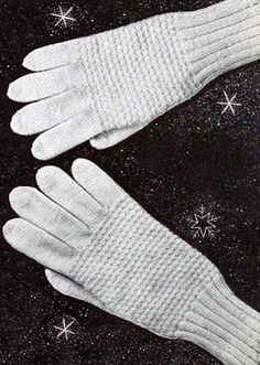 2 needle gloves from child sizes to mens'. Great vintage knitting site with free patterns