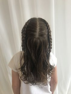 This four year old girl received her first haircut today. We cut four inches off. First Haircut, Four Year Old, Girl Power, Amanda, Braids, Hair Cuts, Dreadlocks, Long Hair Styles, Beauty
