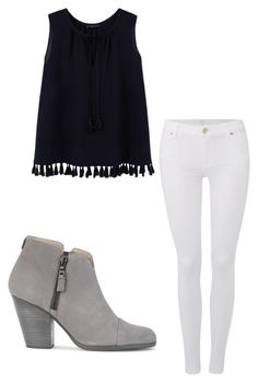 """Untitled #5"" by gabbyfuentes2001 on Polyvore featuring MANGO, 7 For All Mankind and rag & bone"