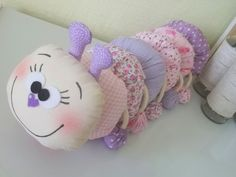 Pillow Crafts, Fabric Crafts, Sewing Crafts, Sewing Projects, Sock Dolls, Felt Dolls, Sponge Crafts, Diy For Kids, Crafts For Kids