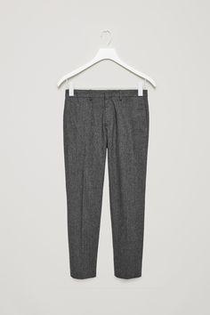 COS | Wool melange trousers