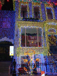 Osborne Spectacle of Dancing Lights at Disney's Hollywood Studios, Walt Disney World, Christmas, #examinercom