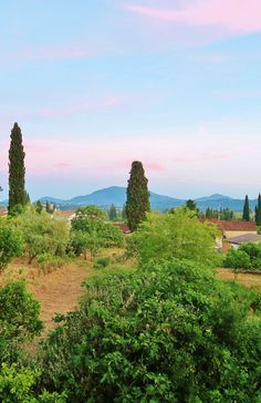 The Hill View in Afra in Corfu, Greece.  The Penniless Writer's Guide to the World- Budget Travel Blog & Youtube Series. (Tips, Tricks & Advice for Travelling on a Shoestring Budget.)