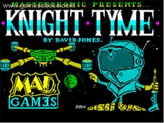 Knight Tyme (ZX Spectrum) 8 Bit Art, Old Computers, Could Play, Old Games, Gaming Computer, Art Forms, Childhood Memories, Spectrum, Knight