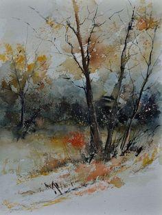 watercolor 412102, Pol Ledent.