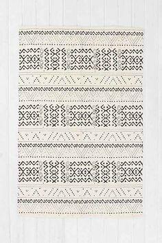 Urban Outfitters – locust striped diamond rug