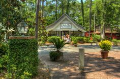 Escape the hustle and bustle of the malls and spend a day shopping at the Hammock Shops Village in the scenic and tranquil town of Pawleys Island. Myrtle Beach Shopping, Myrtle Beach Resorts, Myrtle Beach Vacation, Pawleys Island Hammock, Litchfield Beach, Gazebo, Charleston, Outdoor Structures, House Styles