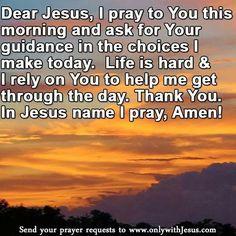 Guidance prayer
