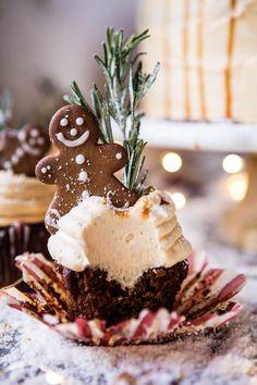 Gingerbread Cake with Caramel Cream Cheese Buttercream | halfbakedharvest.com @hbharvest
