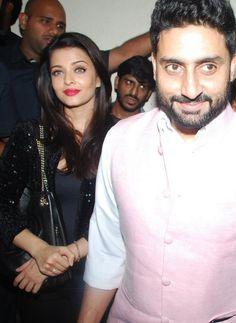 Abhishek, Aishwarya catch a screening of Big B's 'Shamitabh'   PINKVILLA