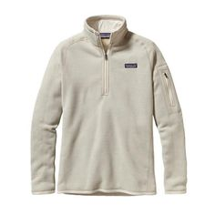 Patagonia Women's 1/4 Pullover Better Sweater - Raw Linen