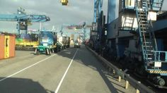 Drop and collect containers at ECT Home, Samskip and the Uniport terminal and at my compagny in Schiedam. Container Terminal, Rotterdam, Times Square, Street View, Trucks, Travel, Ships, Viajes, Truck