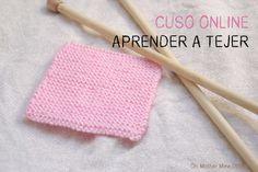 Curso online gratis: Aprender a tejer con dos agujas (Cap 5) Punto bobo