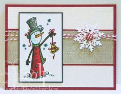 It's Digital Tuesday  today....and our sponsor this week is Bugaboo Stamps.   I love these snowmen...they are a hoot to color with Copic Mar...