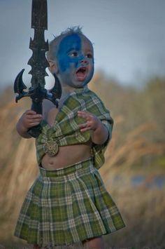 An Ancient Fierce Celtic Warrior ,>)