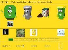 Logiciel éducatif gratuit sur le Tri des déchets | BLOG GS CP CE1 CE2 de Monsieur Mathieu NDL