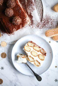 Tiramisu Semifreddo Eis Rezept Zuckerzimundliebe Löffelbiskuits Mascarpone Kahlua Likör Kakao Weihnachtsdessert Idee