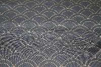 sashiko stof voorbedrukt indigo #9