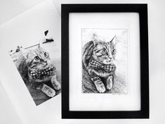 Excited to share the latest addition to my #etsy shop: Custom made hand drawn Pet Portraits - Made to order, #handdrawn #penandink #drawing #pet #etsy #etsyshop #etsyseller #petportrait #cat #dog https://etsy.me/2K6ZuMg