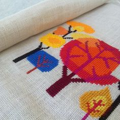 Such beautiful colors and stitches