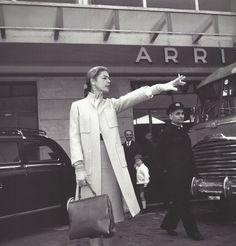 Lauren Bacall, Rome 1960