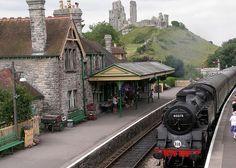Swanage Railway,Corfe Castle, Dorset.