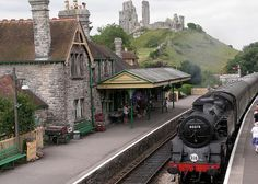 Swanage Railway,Corfe Castle, Dorset.